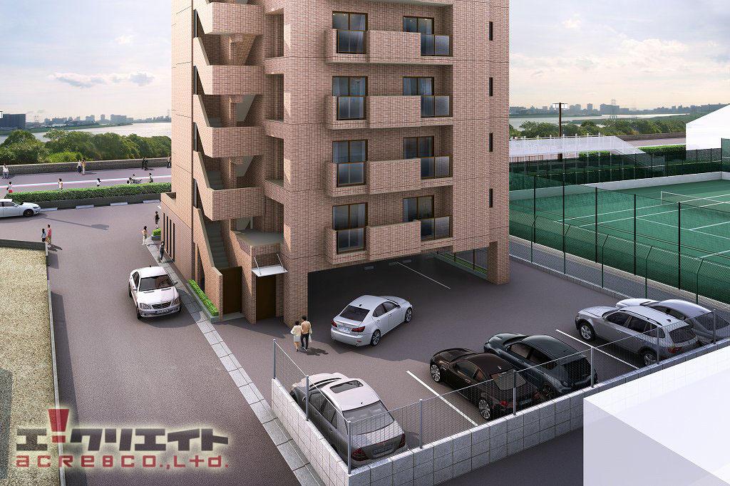 建築CGパースサンプル103
