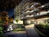建築CGパースサンプル温泉リゾート夜景